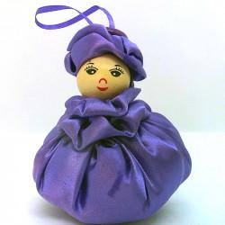 Satin Sweetheart  - Purple...