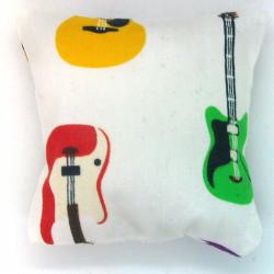 Mini Lavender Pillow - Guitar