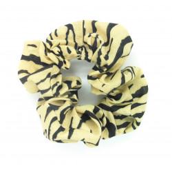 Tiger Print Scrunchie