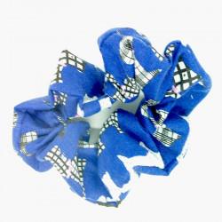 Blue Scotty Dog Scrunchie