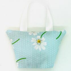 Lavender Handbag - Blue Daisy