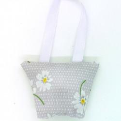 Lavender Handbag - Lilac Daisy