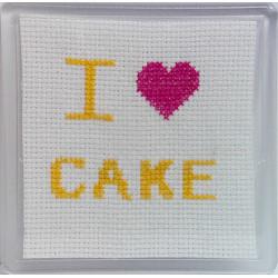 Cross stitch Coaster - I...