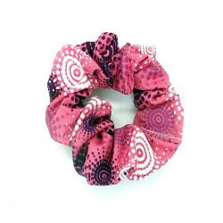 Pink Sunburst Hair Scrunchie