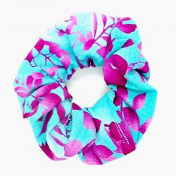 Blue & Purple Floral Hair...