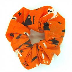 Halloween Orange Scary Cat...
