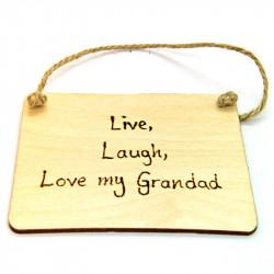 Rectangular Plaque - Grandad