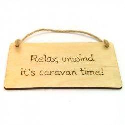 Rectangular Plaque - Caravan