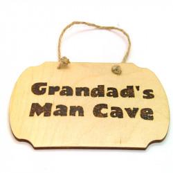 Plaque - Grandads Man Cave