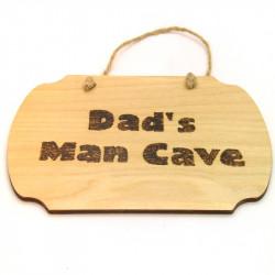 Plaque - Dads Man Cave