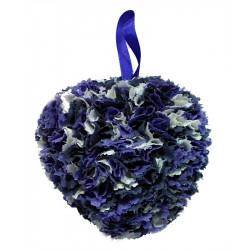 Fabric Heart - Mauve,...
