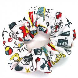 I Love Rock Scrunchie