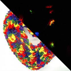 25cm Fabric Heart Wreath...