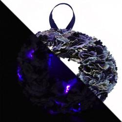 12cm Fabric Wreath with...