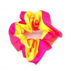 Pink & Yellow Satin Hair...