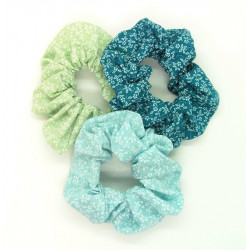Set of 3 Floral Scrunchies...