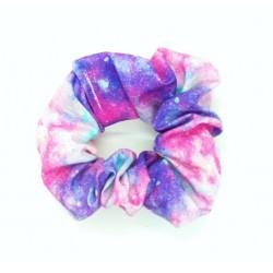 Pink & Purple Galaxy Scrunchie