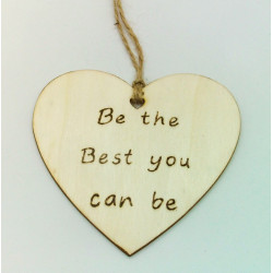 Be the best you can be Plaque