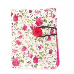 White and Pink Floral...