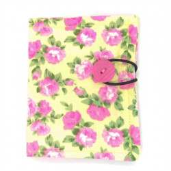 Yellow and Pink Floral...