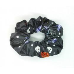 Funky Halloween Scrunchie -...
