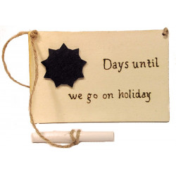 Holiday Countdown  Plaque &...