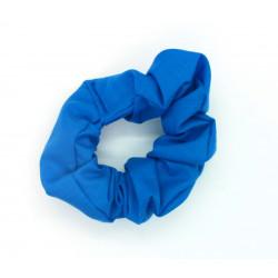 Plain Blue Scrunchie
