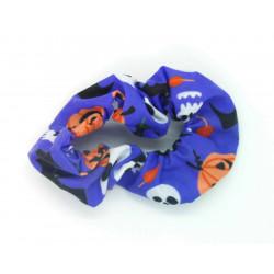 Purple Halloween Scrunchie