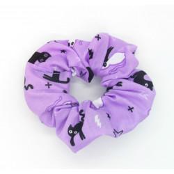 Purple Scaredy Cat...