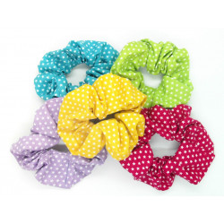 Set of 5 Star Scrunchies