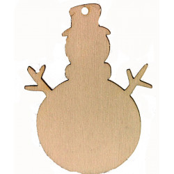 Personalised Wooden Snowman...