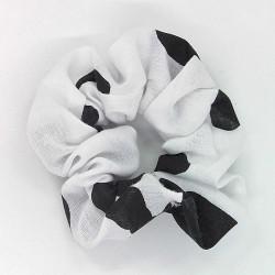 Cow Print Scrunchie