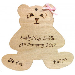 Personalised - Birth Bear...