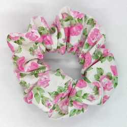 White Baby Pink Floral...
