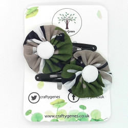 Camouflage Hair Clips