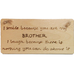 Rectangular Plaque – Brother